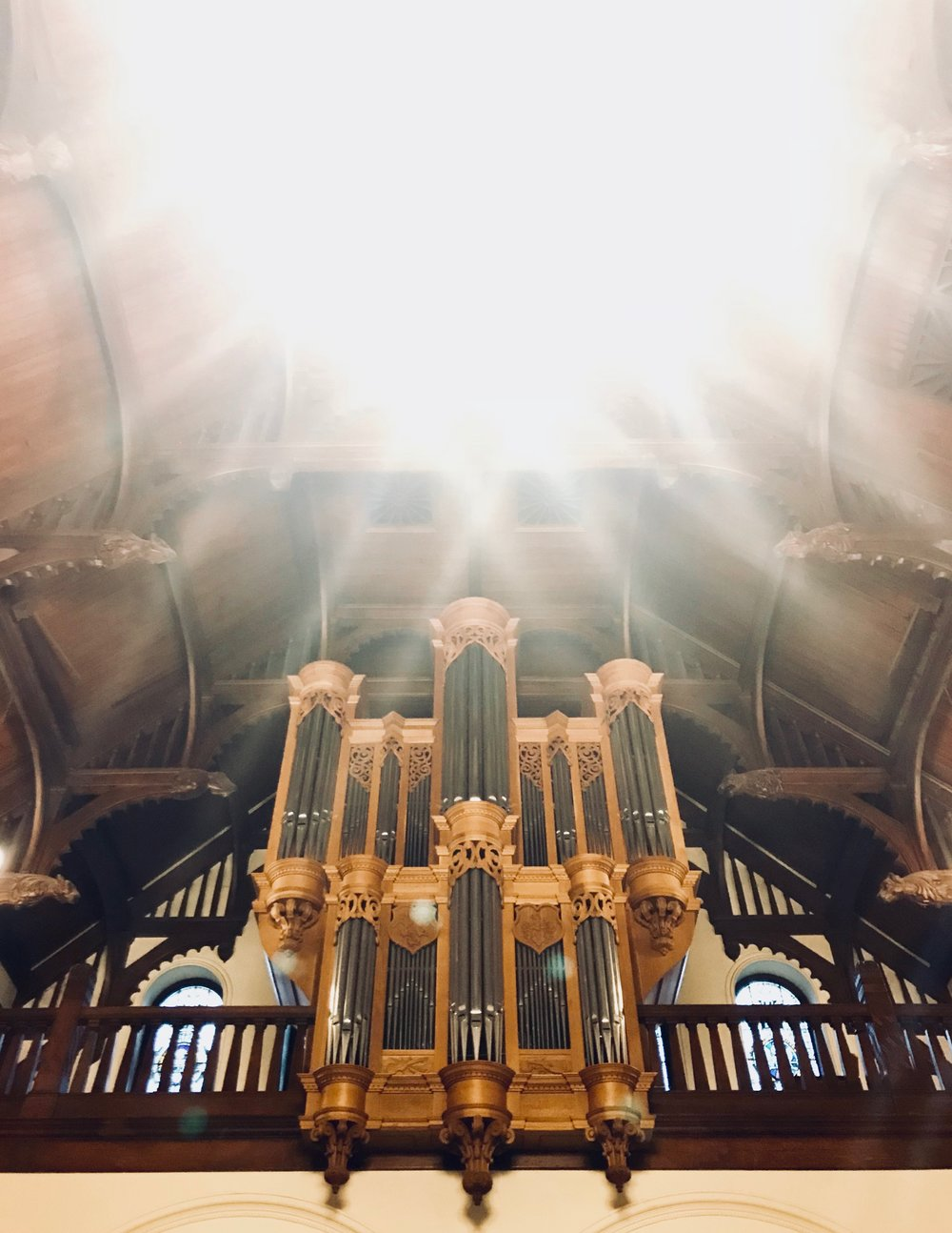 Wolff Pipe Organ, Redpath Hall, McGill University, Montreal