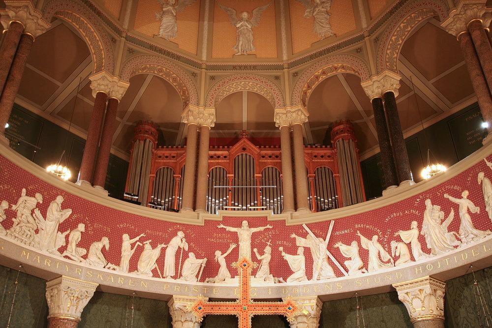 1890 CAVAILLÉ-COLL ORGAN, JESUS CHURCH, COPENHAGEN