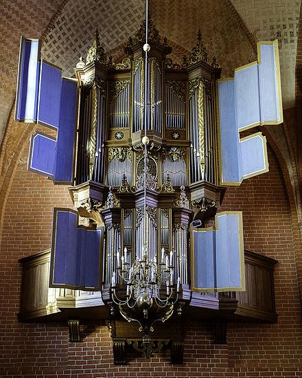 1651 FABER ORGAN, ZEERIJP, NETHERLANDS