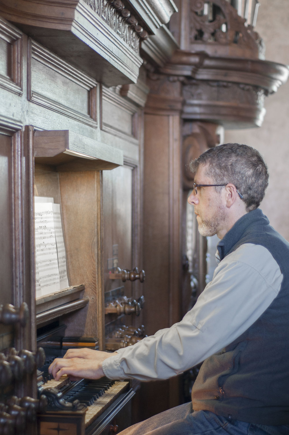 Chris Porter plays the 1733 Hinsz Organ in Leeds, Holland.