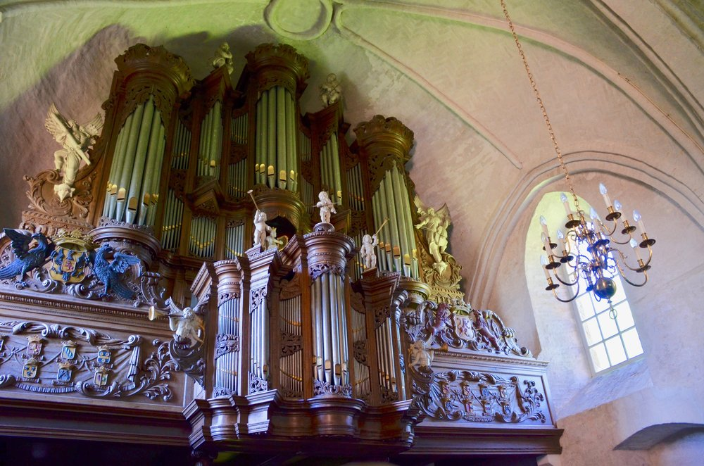 The 1733 Hinsz Organ, Leens, Holland.