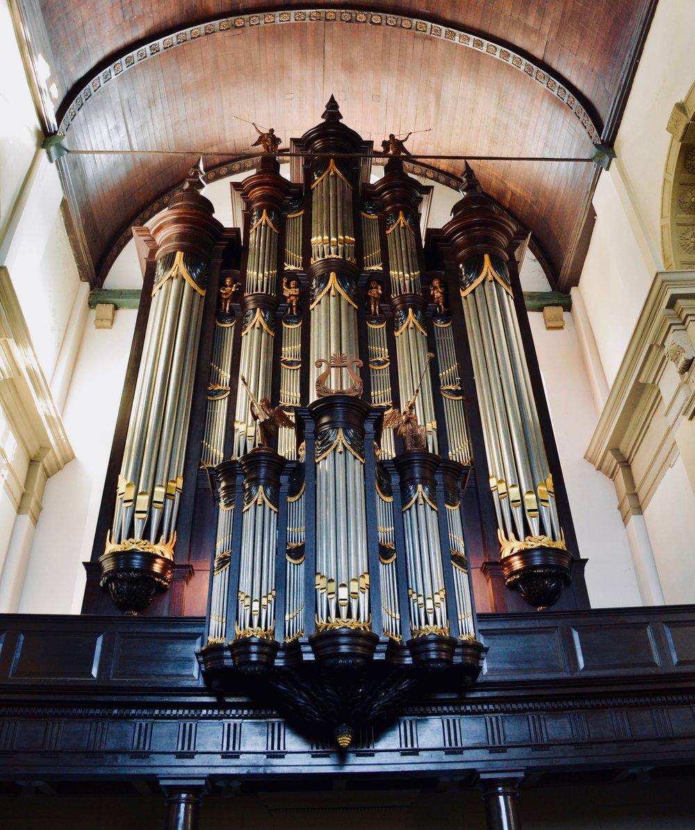 Nieuwe Kerk, Groningen. 1831 Pipe Organ.