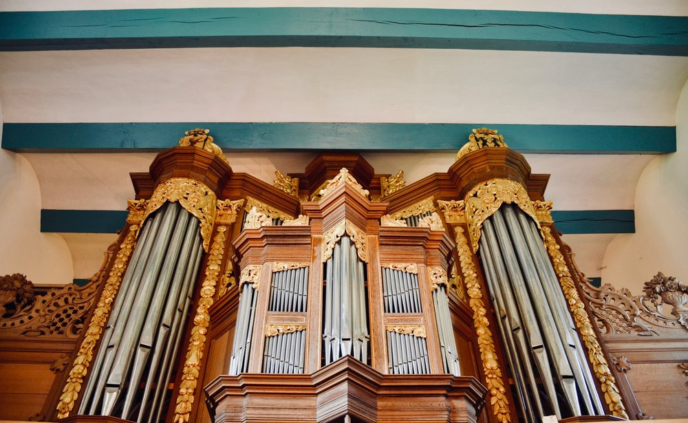 The 1667 Huis organ in Kantens, Holland.
