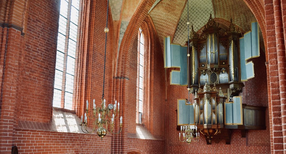 The 1651 Faber organ in Zeerijp, Holland.