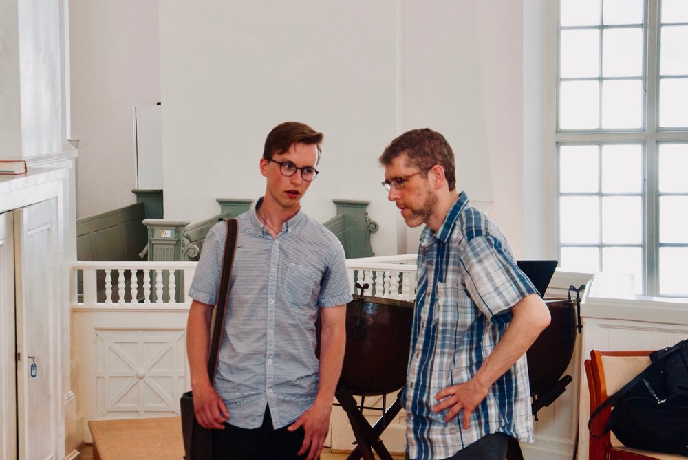Chris Porter speaks with Arno Humal, current organ student at Göteborg University.