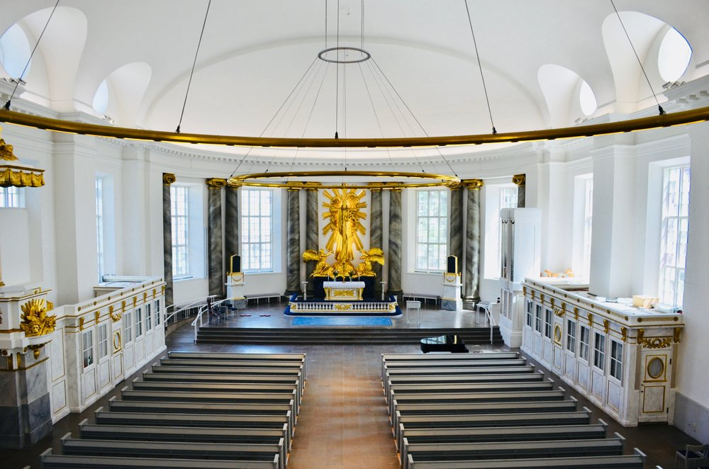 Interior of Göteborg Cathedral
