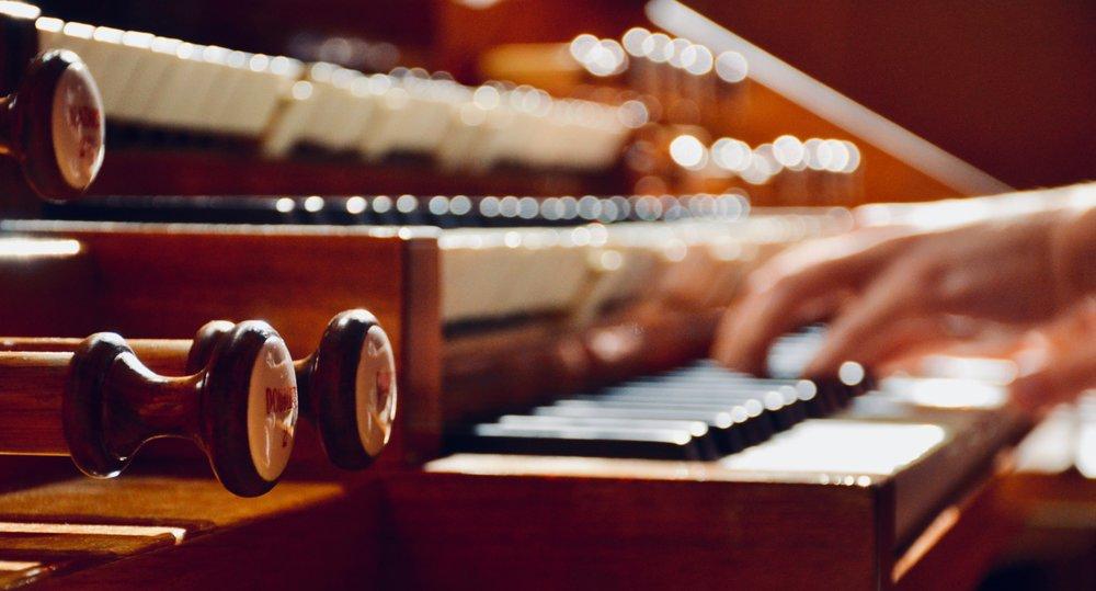 Console detail, 1998 Verschueren organ in Göteborg University.