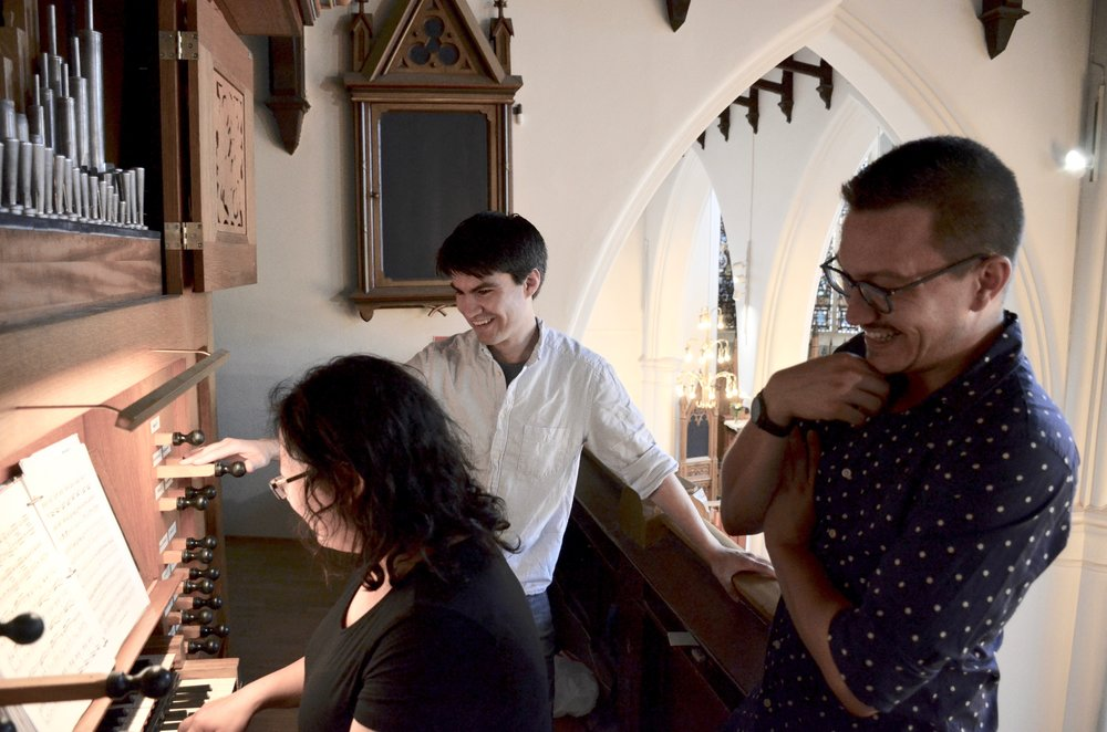 Jennifer Hsiao plays the 1992 Brombaugh organ, Haga Church, Göteborg, Sweden.