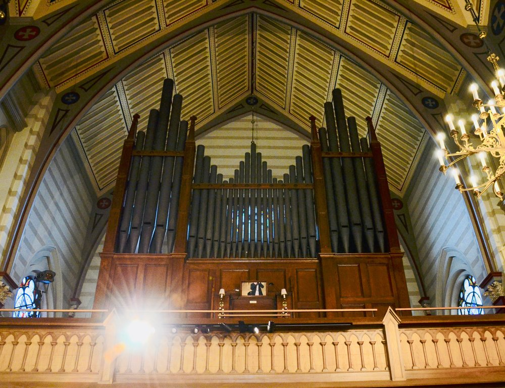1871 Willis Organ in Örgryte New Church, Göteborg, Sweden.