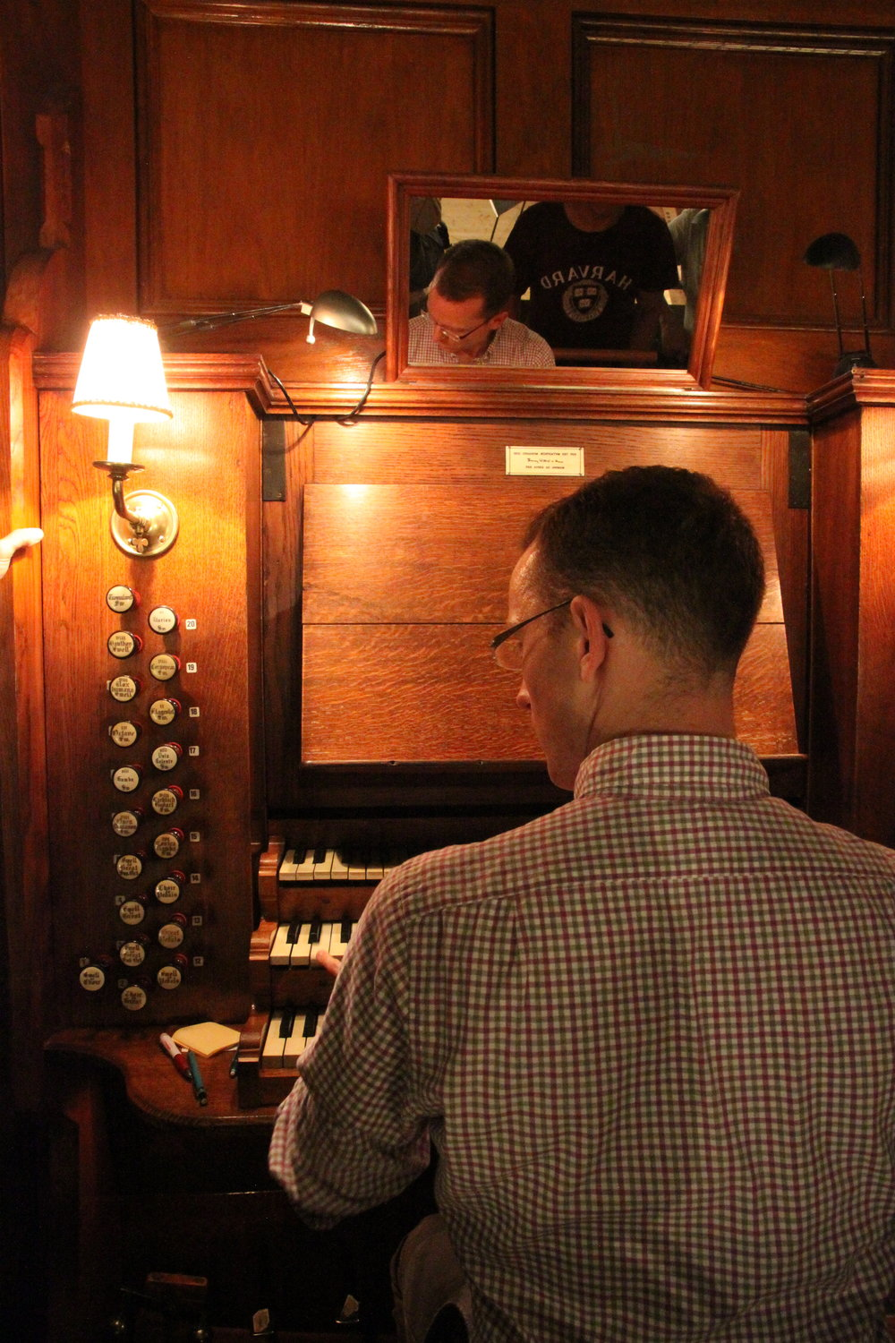 Christian Lane demonstrates the 1871 Willis Organ in Örgryte New Church, Göteborg, Sweden.