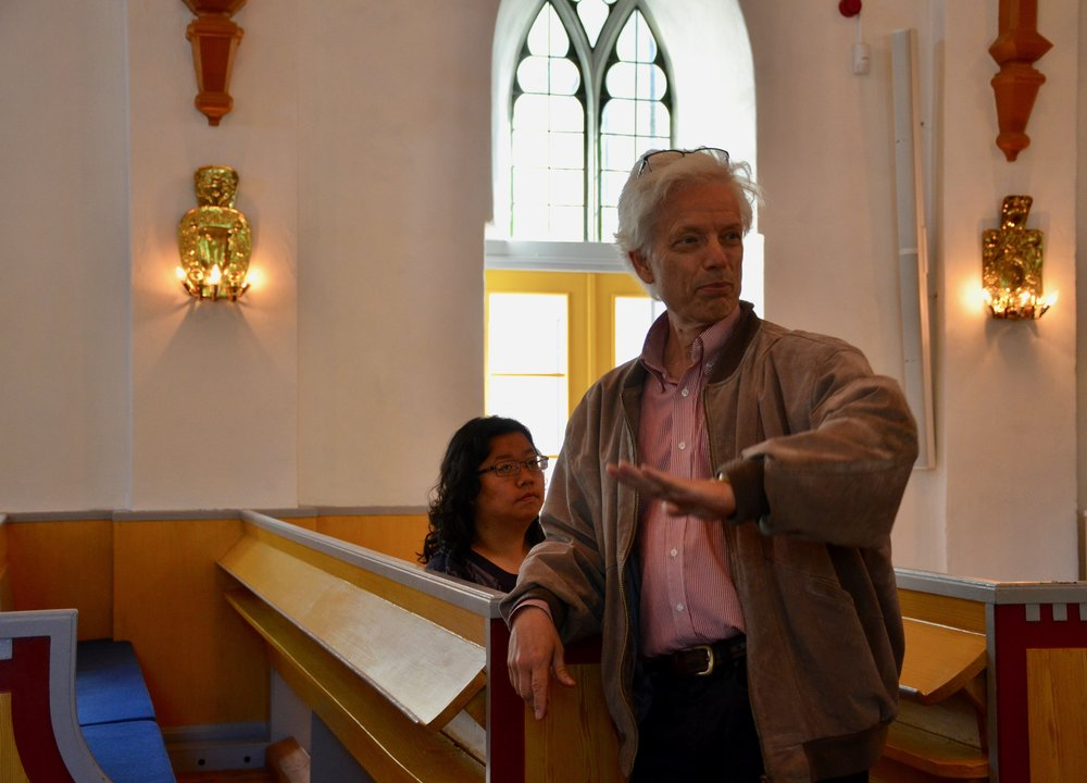 Hans Davidsson introduces the 1783 Schiörlin organ in Jonsered, Sweden.