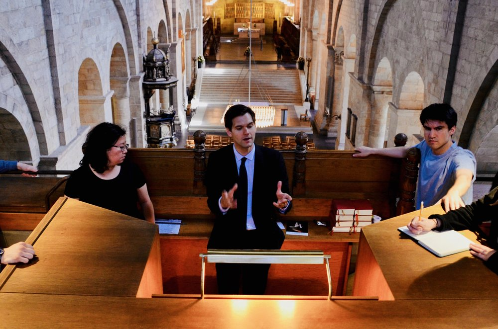 Cathedral organist Robert Bennesh introduces the 1934 Marcussen organ in Lund Cathedral.