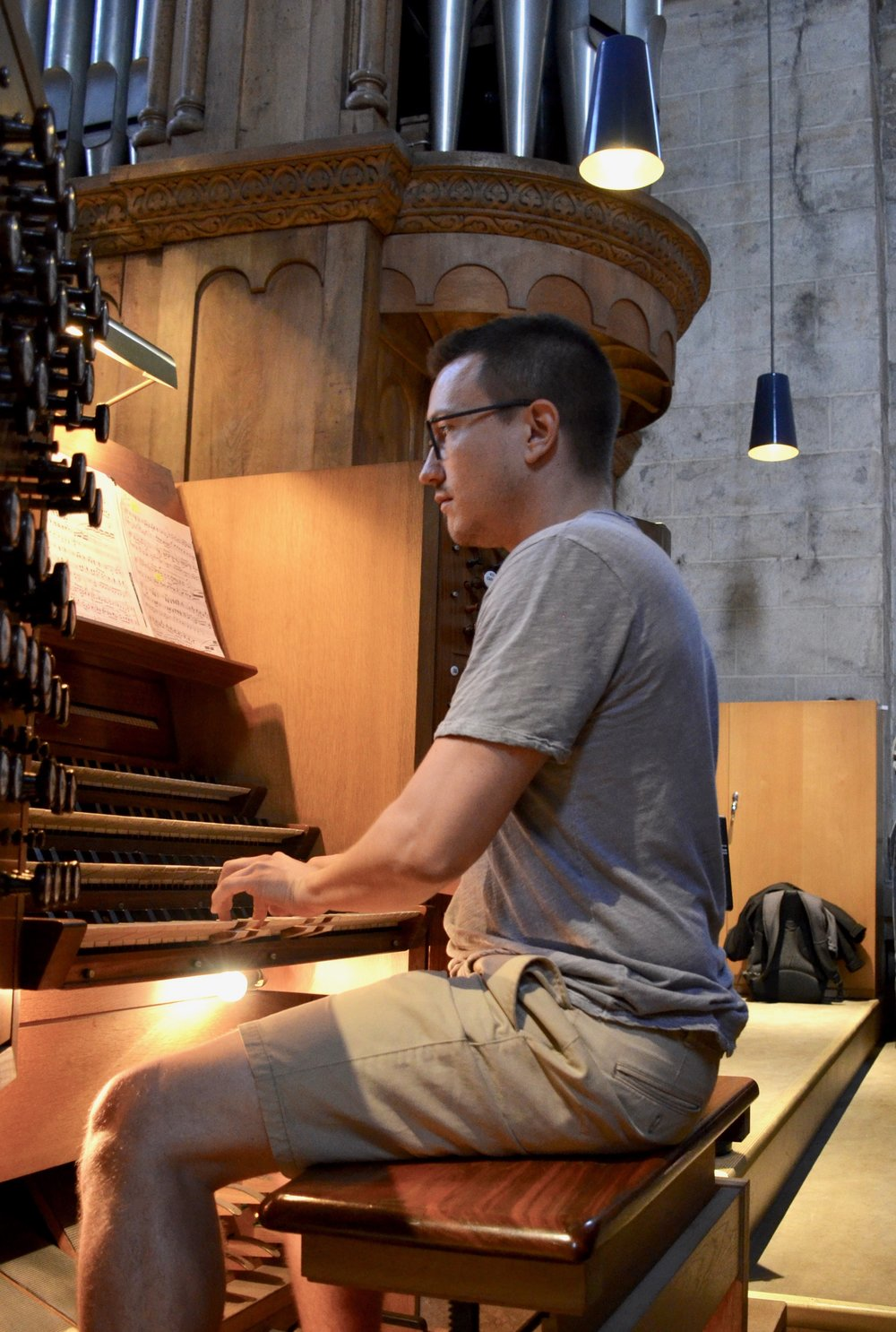 Corey De Tar plays the 1934 Marcussen organ in Lund Cathedral.