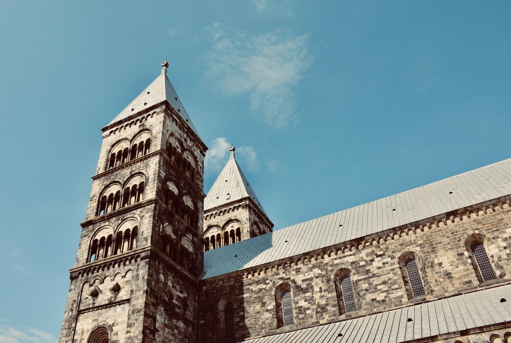 Lund Cathedral, which will celebrate its 900th anniversary in 2023.