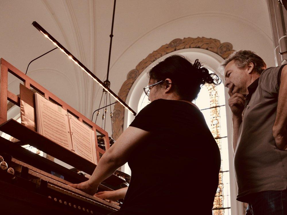 Jennifer Hsiao plays the 1907 Åckerman & Lund organ in S:t Johannes kyrka, Malmö, Sweden.
