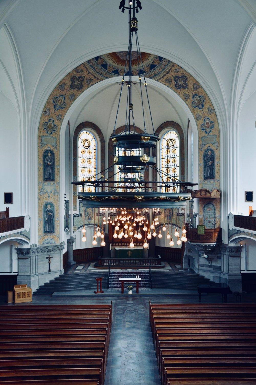 S:t Johannes kyrka, Malmö, Sweden.