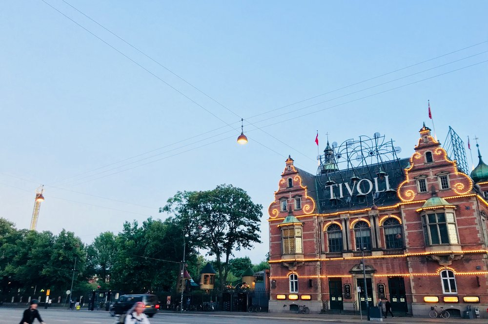 Tivoli Gardens, Copenhagen.