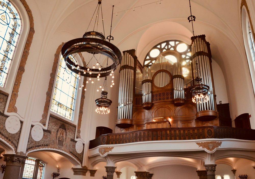 The Åckerman & Lund organ in  S:t Johannes kyrka, Malmö, Sweden.