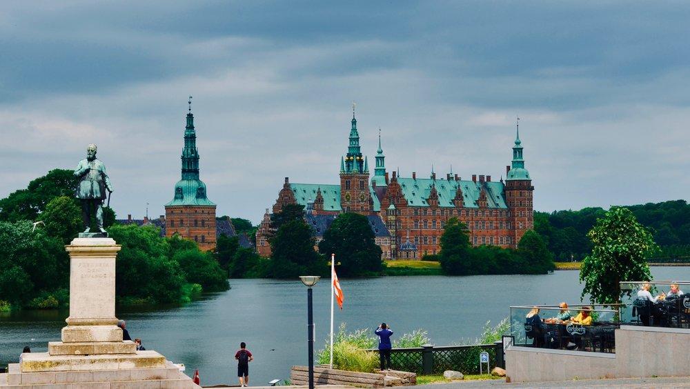 Frederiksborg Castle, Hillerød, Denmark.
