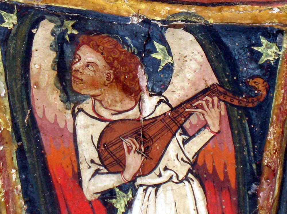 Tabernacle de St-Savin, XIVe siècle.