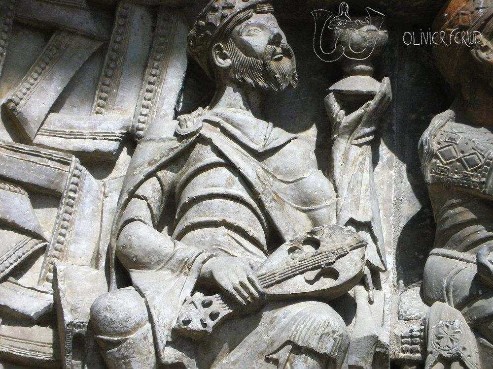 Abbatiale de Moissac, XIIe siècle.