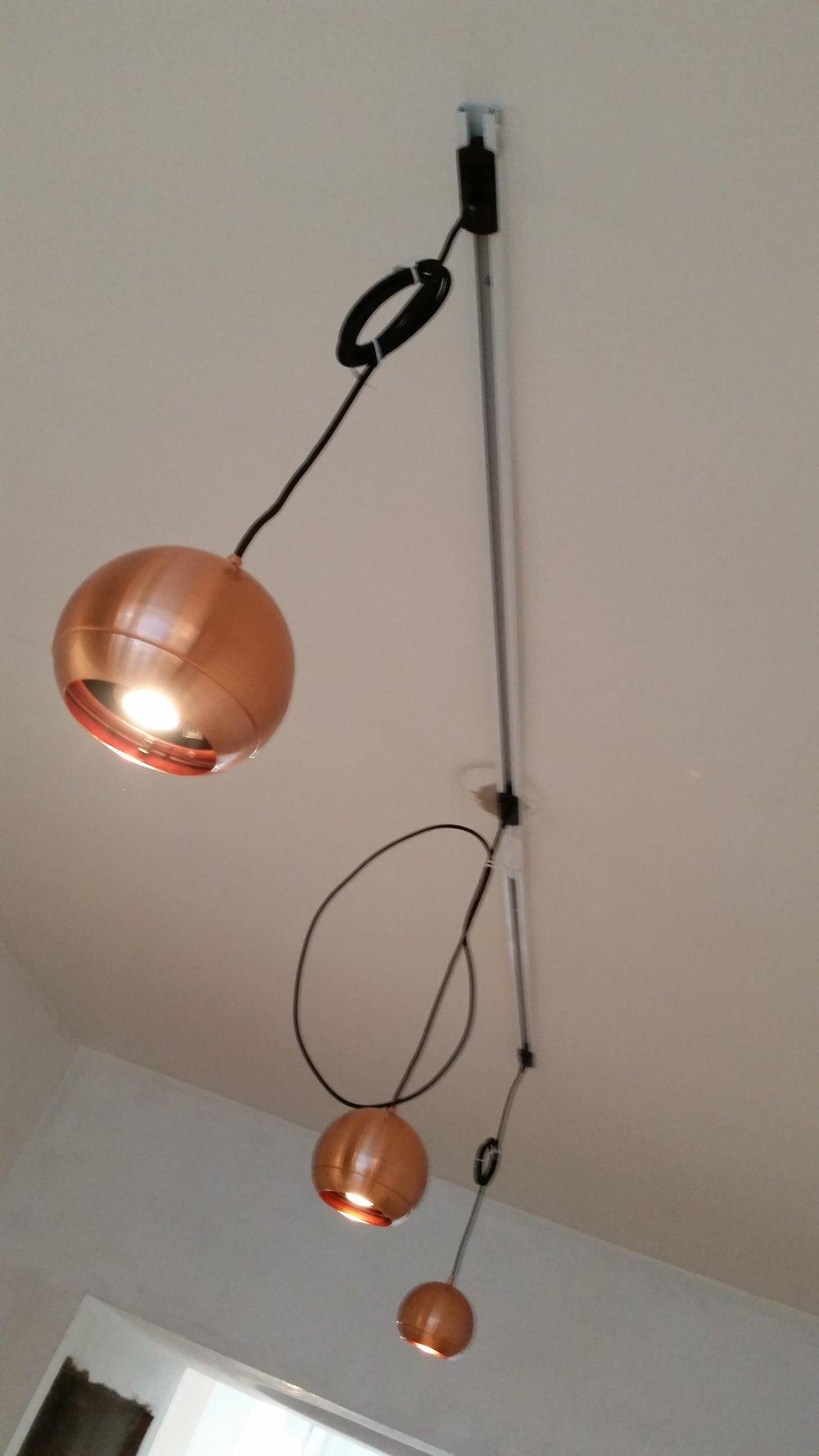 Koper LED lampen op fase-rail