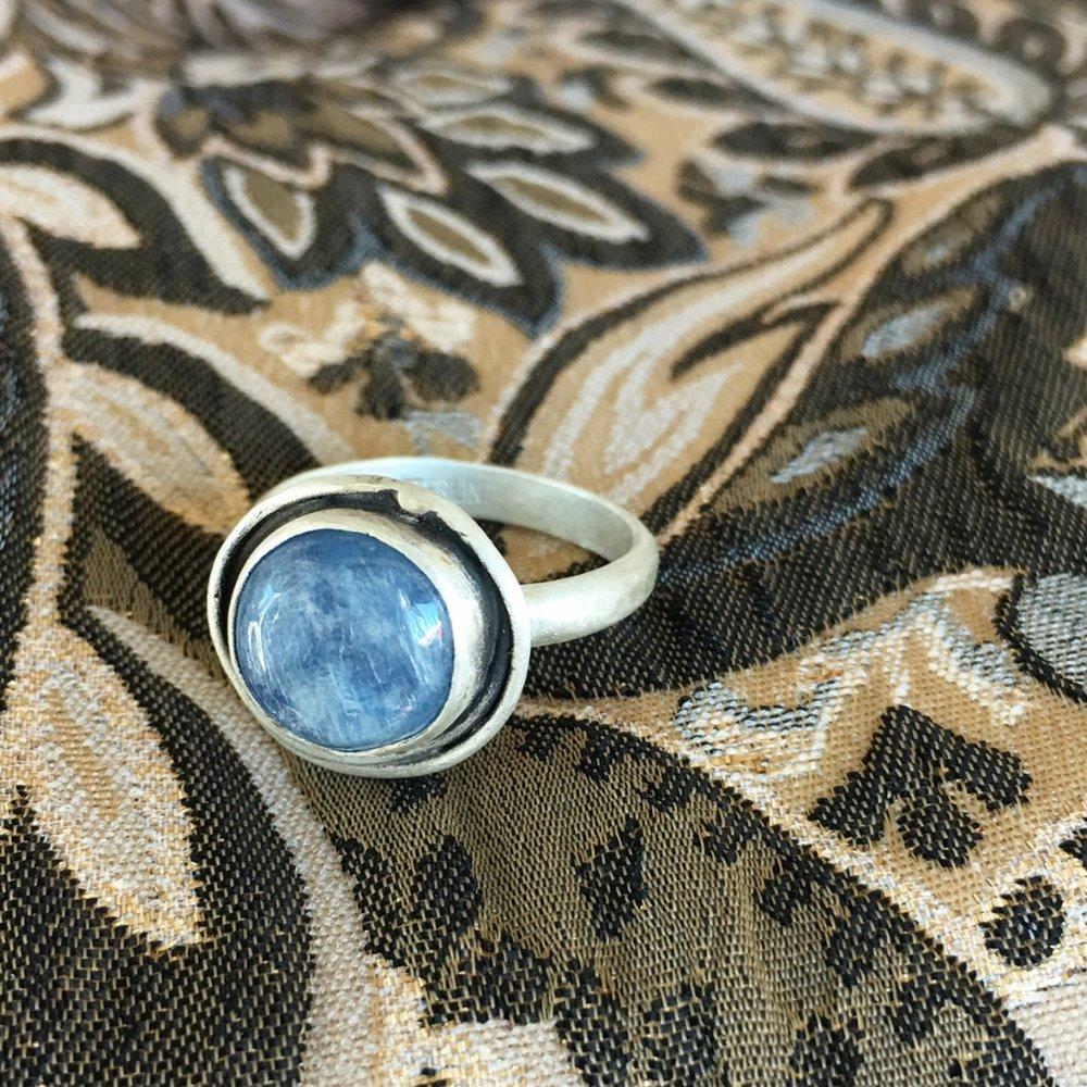 Blue Moon Kyanite Ring