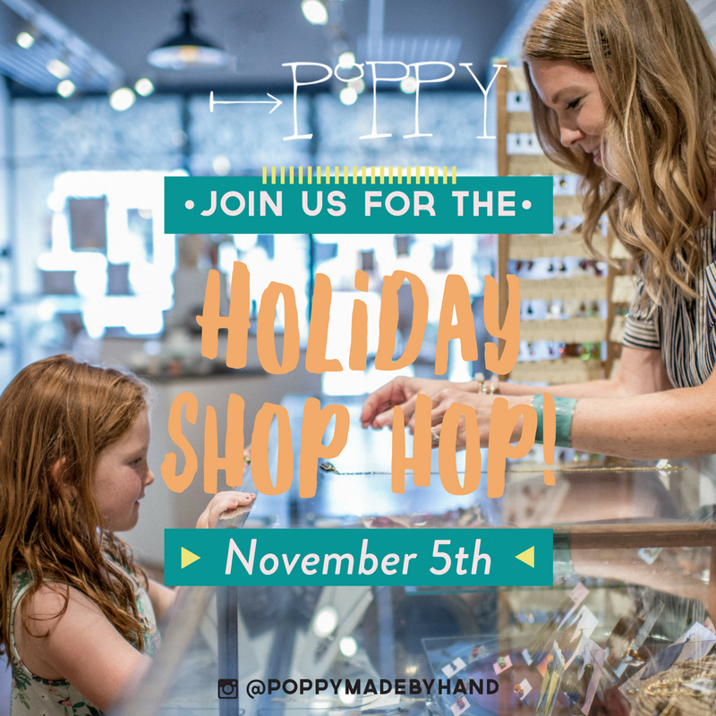 Holiday Shop Hop is November 5th