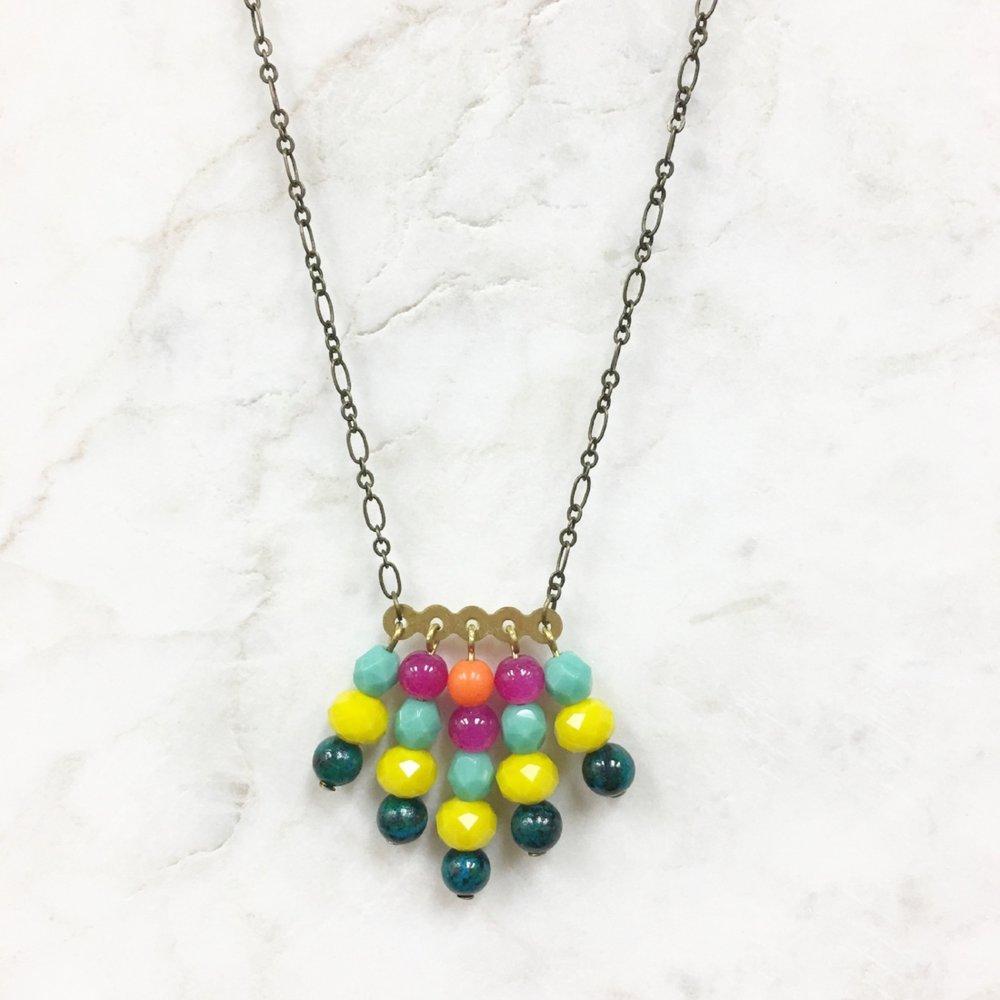 Lite-Brite Necklace