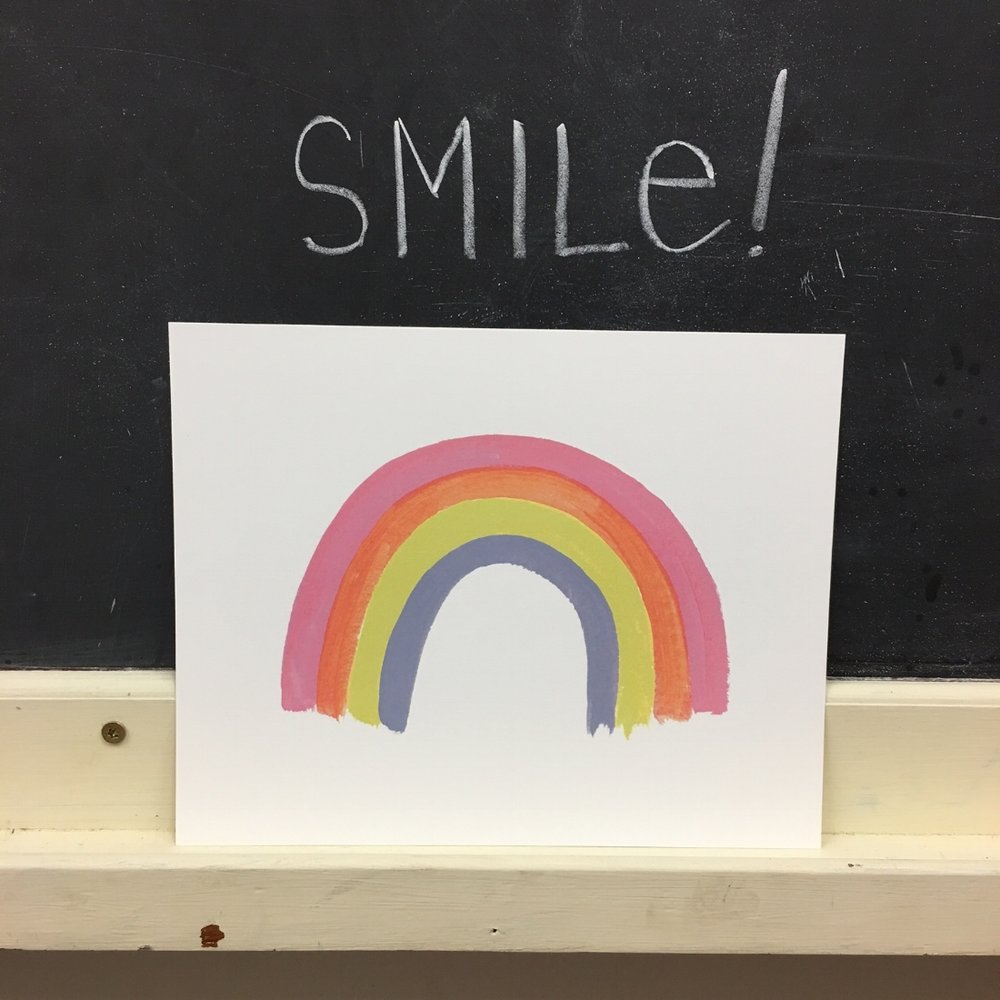 Rainbow Connection Art Print