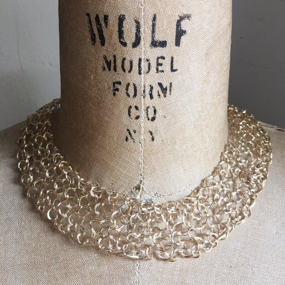 Spun Gold Collar