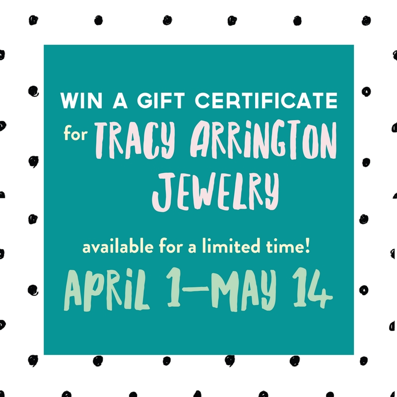 Win a gift certificate for jewelry from artist Tracy Arrington at Poppy in Columbia, MO