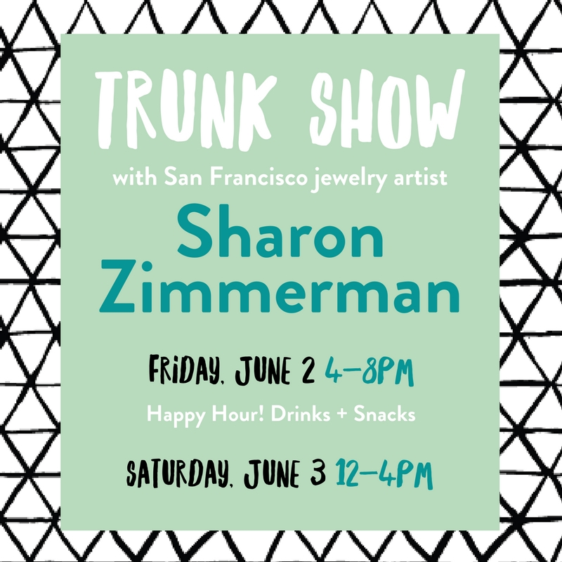 Gifts and jewelry in Columbia, MO at the Sharon Zimmerman trunk show at Poppy