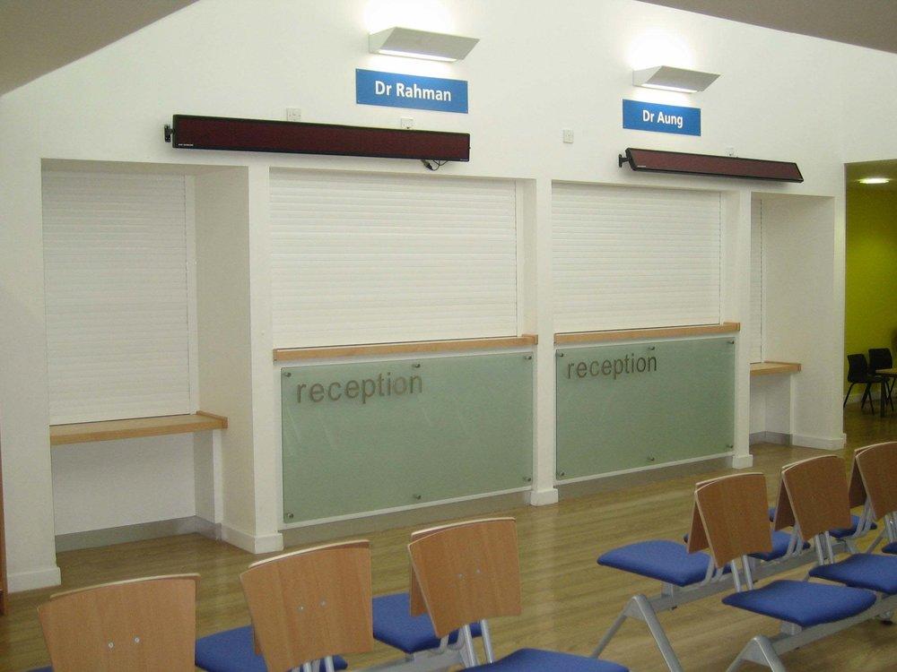 reception shutter