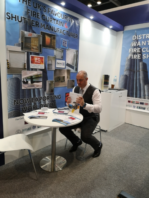 A1S at Big 5 - You can find Mark at Stand SS1 E143, Sheikh Saheed Hall no 1, next to International Fire Consultants.