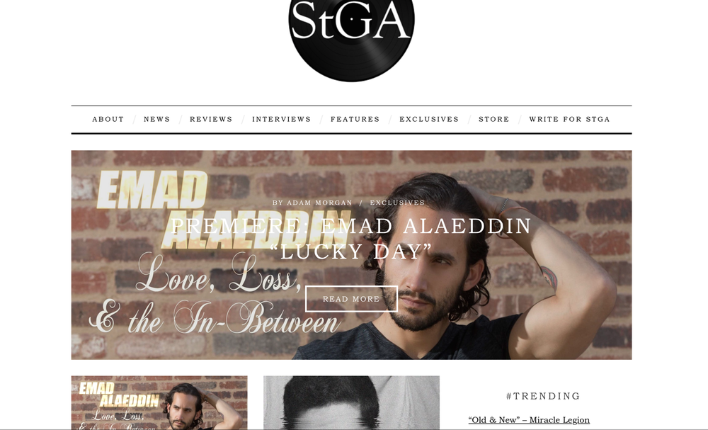 Featured on STGA