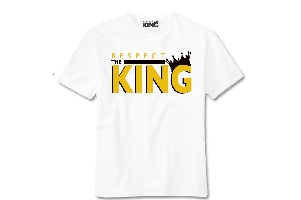"RESPECT THE KING ""METALLIC GOLD & BLACK"" LOGO"