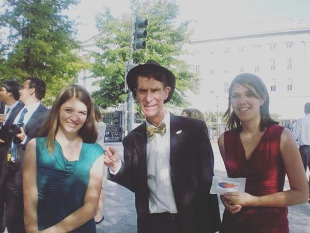 #throwbackthursday to 2011 when we were invited to the first annual White House Science Fair and got to meet @billnye, @mythbusters, and @barackobama! What an amazing experience we will forever be thankful for! Science can take you all over the world - even to the White House! . . . #stem #stemeducation #whitehousesciencefair #billnyethescienceguy #sciencesisters#stemsisters #stemgirls #businesspassion#businesslife #school #education #teachersofinstagram #teacher #science#engineering #learning #iteachtoo #iteach#teacherproblems #teacherlife #classroom#teachersofig #learningisfun #biology #physics#nasa #astronomy #space #scientist