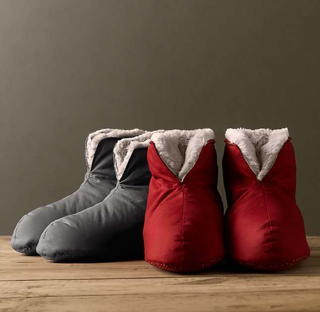 1. Ultimate Luxury Plush Foot Duvets - $24 I LOVE that they are called Foot Duvets. Because even your feet deserve a treat yo' self.