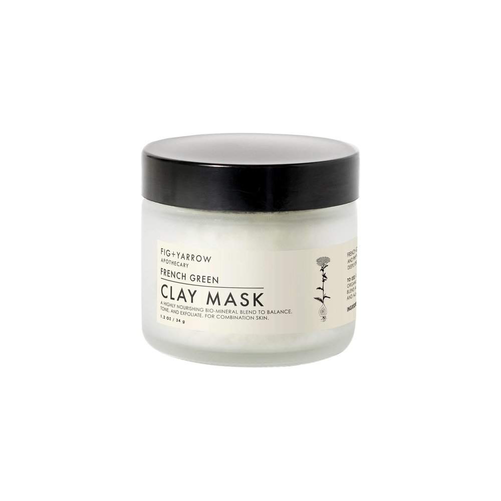 2. Fig + Yarrow French Green Clay Mask - $22.99 Because I don't know a single female who is not interested in a little at-home spa treatment.