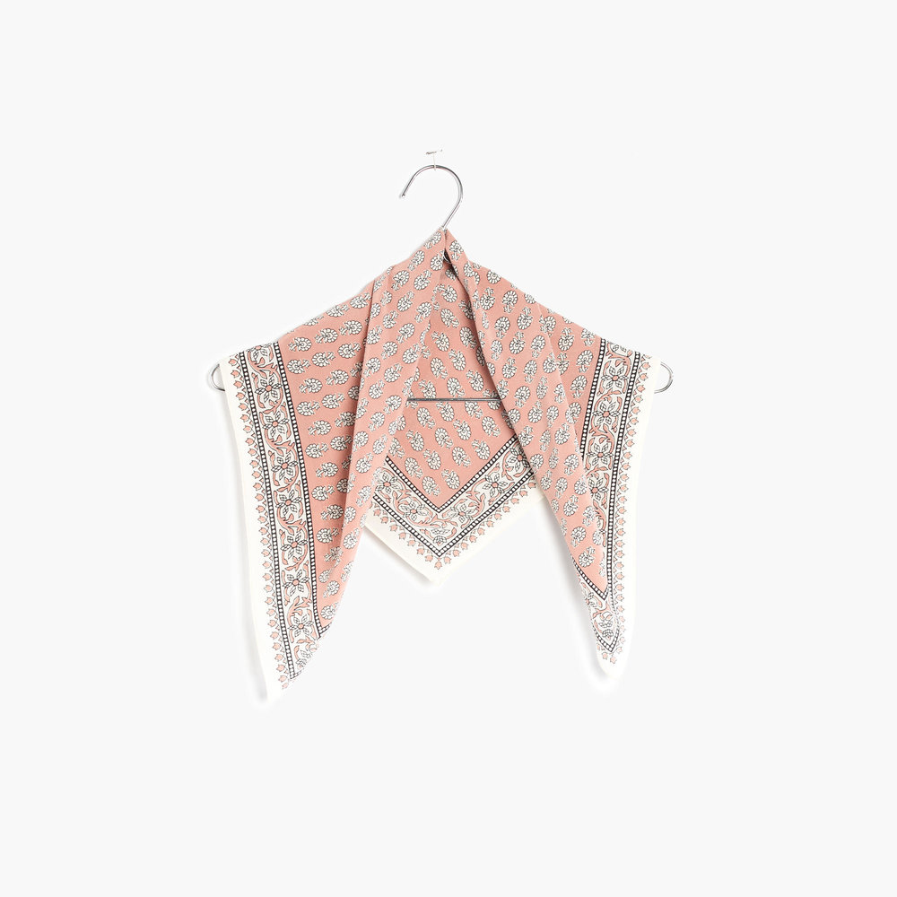 6. Madewell Silk Bandana - $24.50 Bandanas are among my favorite style trends right now. The quickest way to add some cool to a casual outfit.
