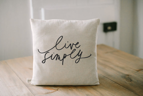 9. I love Us Calligraphy Throw Pillow - $20 A mantra worth seeing everyday. Plus, throw pillows are just the best.