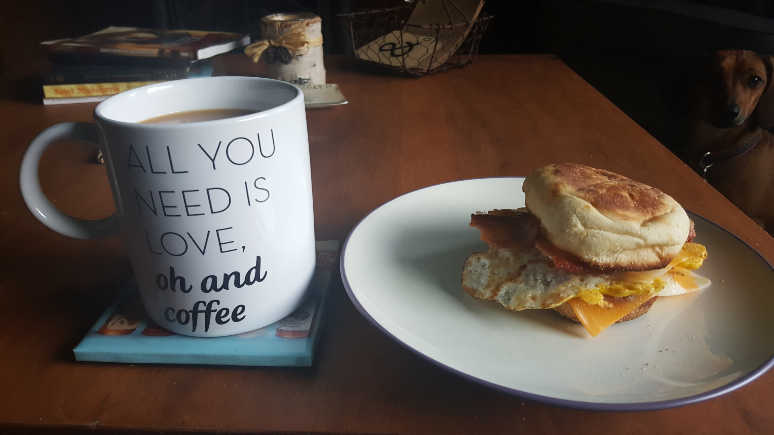 happy friday - breakfast sammy