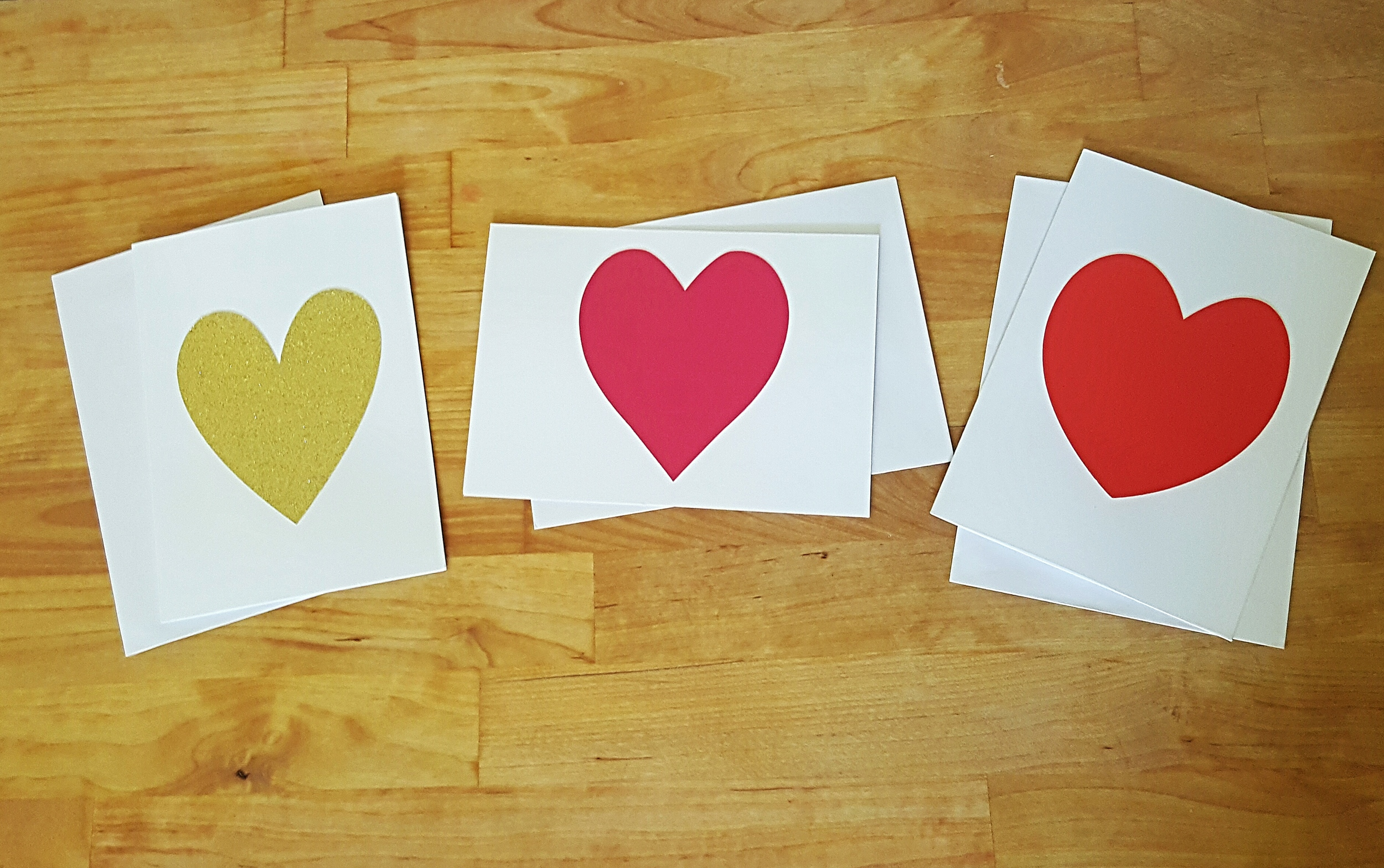 Thrifty heart cards