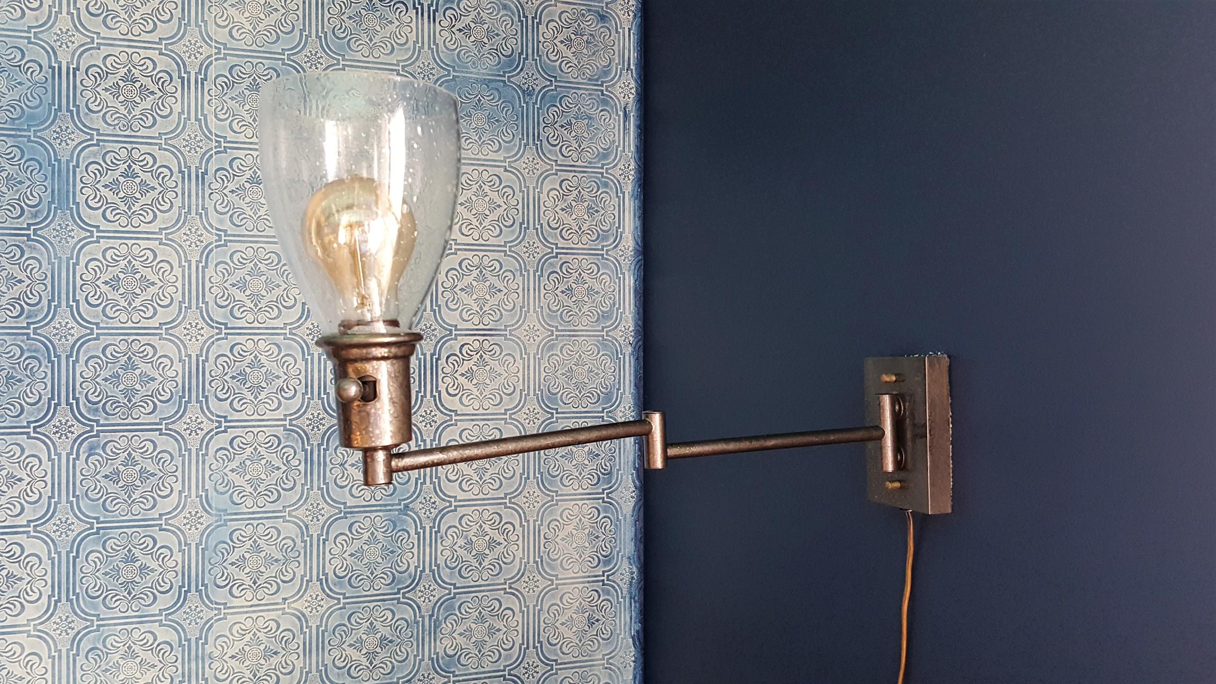 wall lamp makover DIY (3)