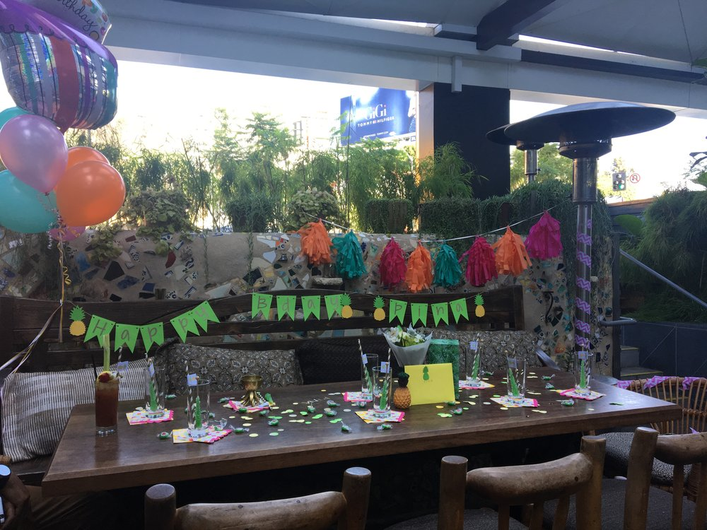 Pina Colada Birthday -