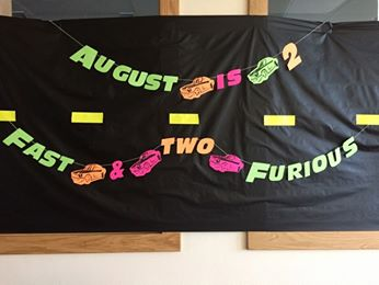 Two Fast Two Furious Birthday -