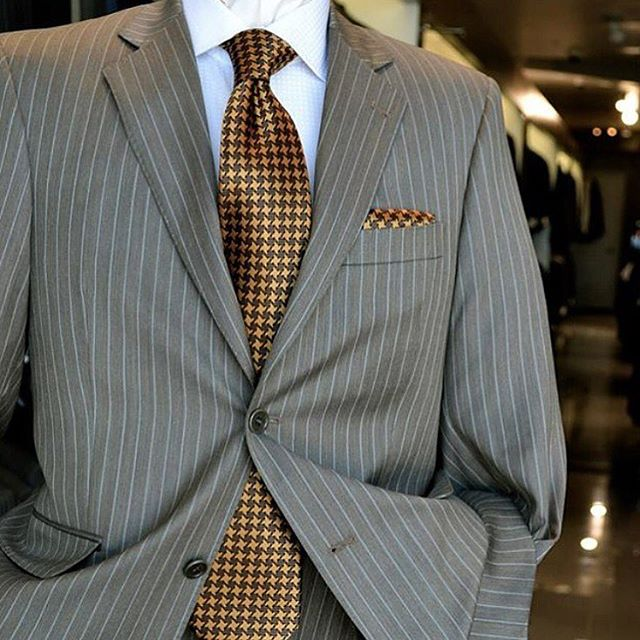 Back to the Monday Grind -- stay sharp with a pinstripe suit.  #Mastroianni #menswear #getsuited #suitup