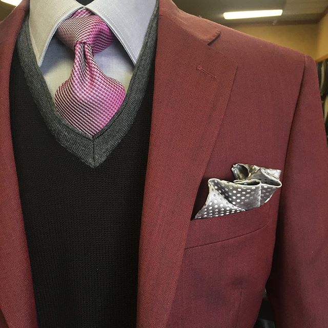 Know when and how to accessorize your suit.  #GetSuited #Mastroianni #Menswear