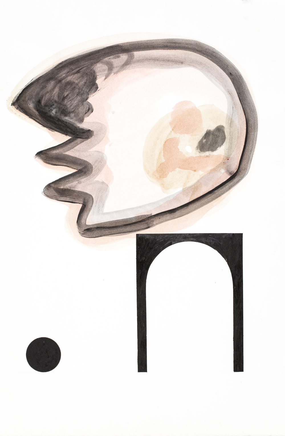 Profile #3, 2005, acrylic on paper, 22.5x15 inches. $1,200.jpg